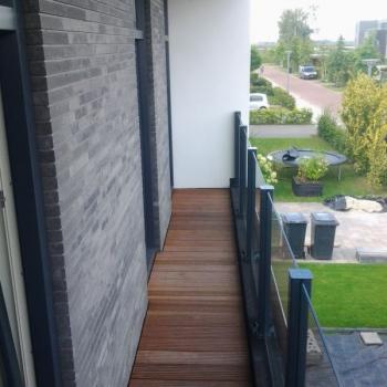 Balkon scherm Eelderwolde 4