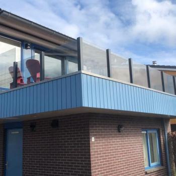 Balkonscherm Waterwoning Heeg 4