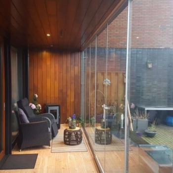 Luxe Glazen Schuifwand Leeuwarden 1