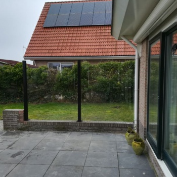 Square Volglazen Windscherm Franeker 2